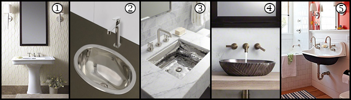 Bathroom Sinks Types the secret to selecting a stunning bathroom sink