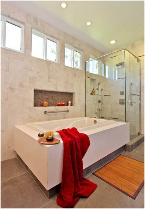 Contemporary Grab Bar by JDR Spaces
