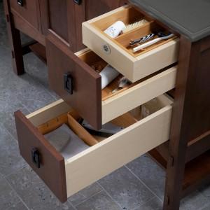 Kohler Custom Vanity Drawer Bamboo