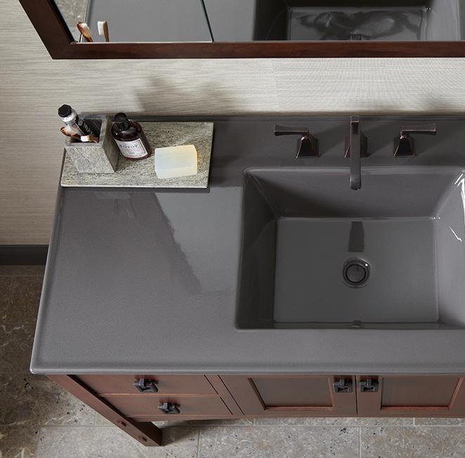 kohler custom vanity top - Kohler Vanity