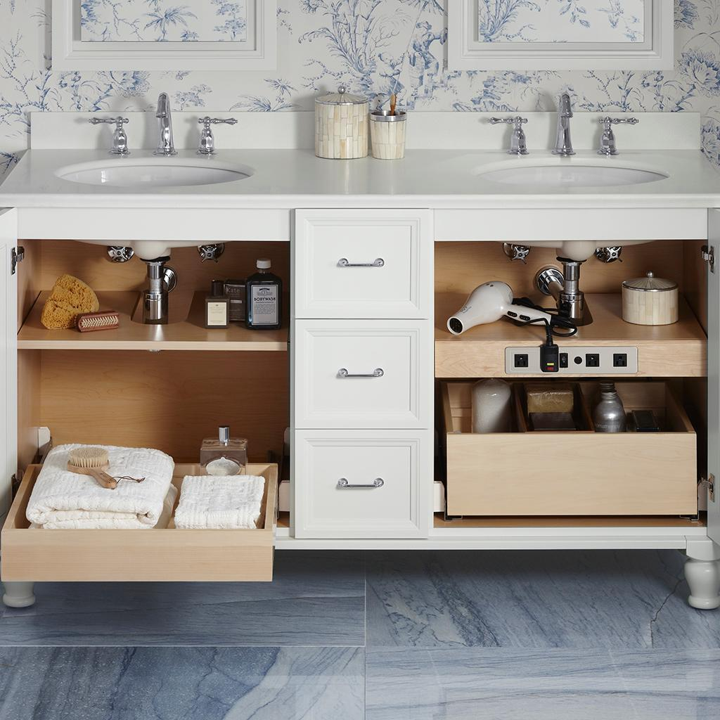Good These Storage Options Go Far Beyond Drawer Dividers And Baskets. Kohler  Custom Vanity