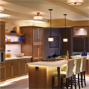 Sensio LED lit kitchen